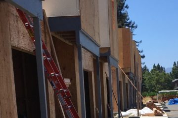 our town st helena framing the second floor and remaining on schedule