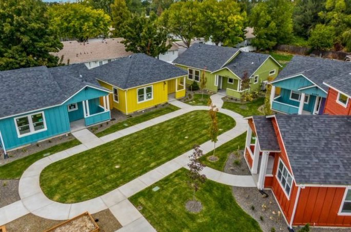 Our town st helena affordable housing in idaho from a nonprofit