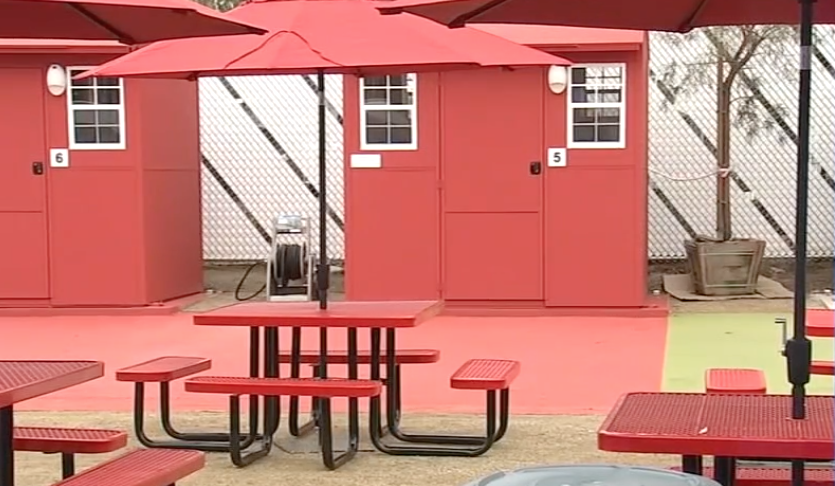our town st helena tiny homes in north hollywood to solve the homeless crisis