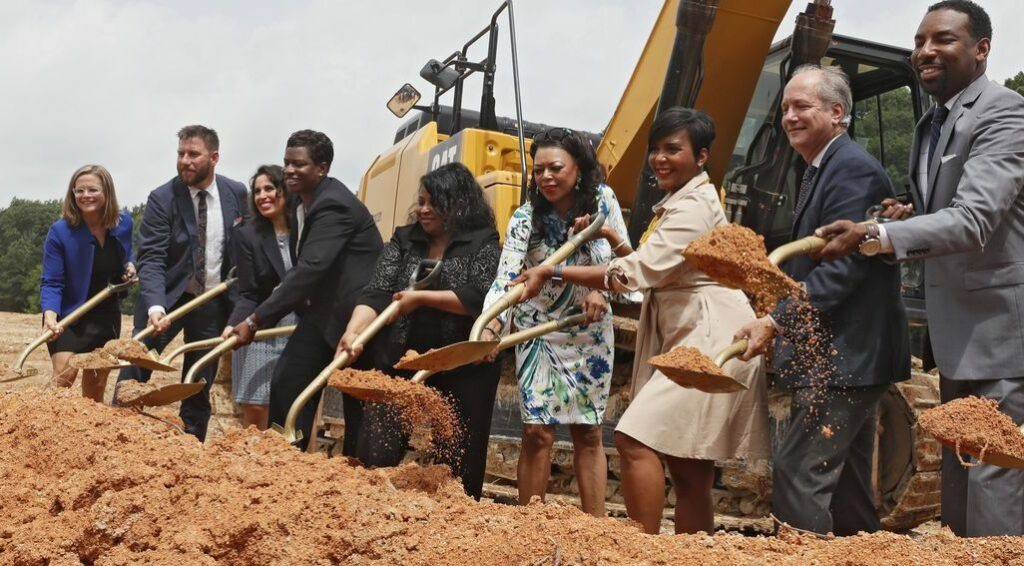 our town st helena: building affordable housing in Atlanta on property owned by the city
