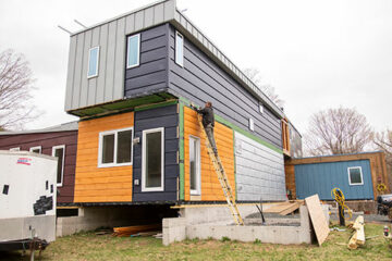 our town st helena: net zero modular homes in Vermont